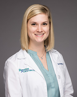 Stevi Barrett, PA-C at Digestive Health Specialists, P.A. serving as a Forsyth Medical Center hospitalist