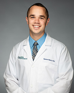Spencer Martin, PA-C at Digestive Health Specialists, P.A. serving the Kernersville and Winston-Salem locations
