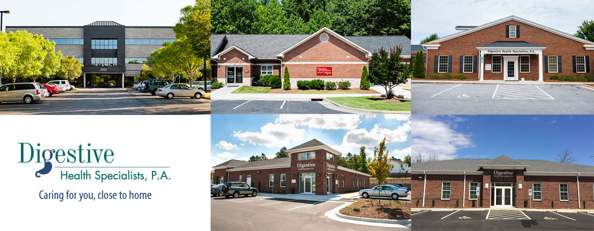 Digestive Health Specialists, P.A. locations, winston-salem, kernersville, thomasville, king, and advance