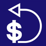 Refund policy icon