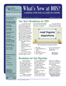 January 2020 newsletter for referral coordinators