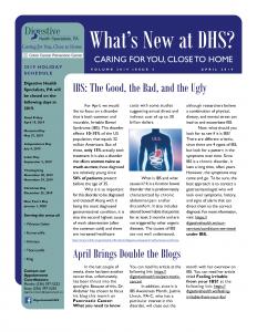 April 2019 newsletter for referral coordinators