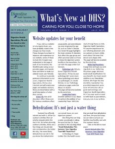 July 2019 newsletter for referral coordinators