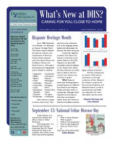 September 2019 newsletter for referral coordinators