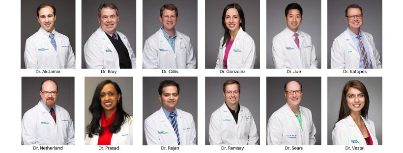 All 12 Digestive Health Specialists board certified gastroenterologists.