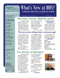 March 2020 newsletter for referral coordinators