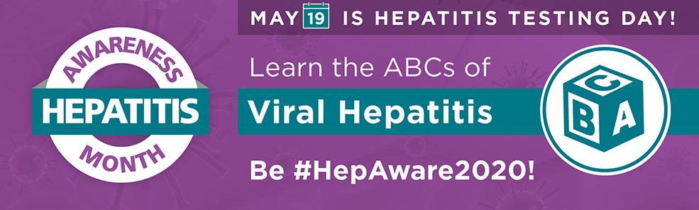 Hepatitis Awareness Month in May