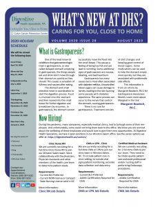 August 2020 referral coordinator's newsletter