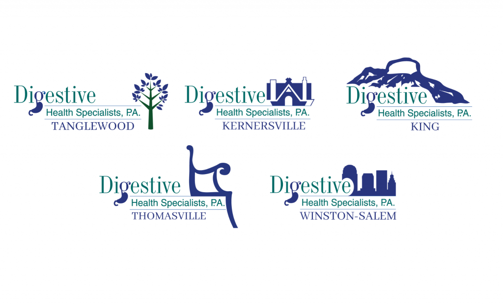 Digestive Health launches new logos highlighting what makes the areas they cover special.