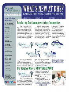 September newsletter for referring providers