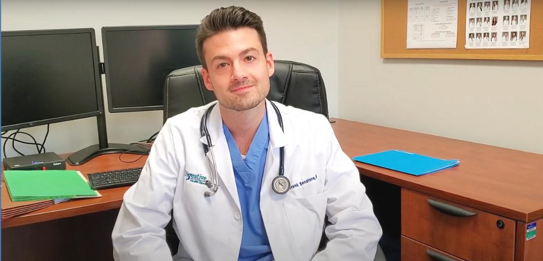 Dr. Senatore is a board certified gastroenterologist at Digestive Health Specialists