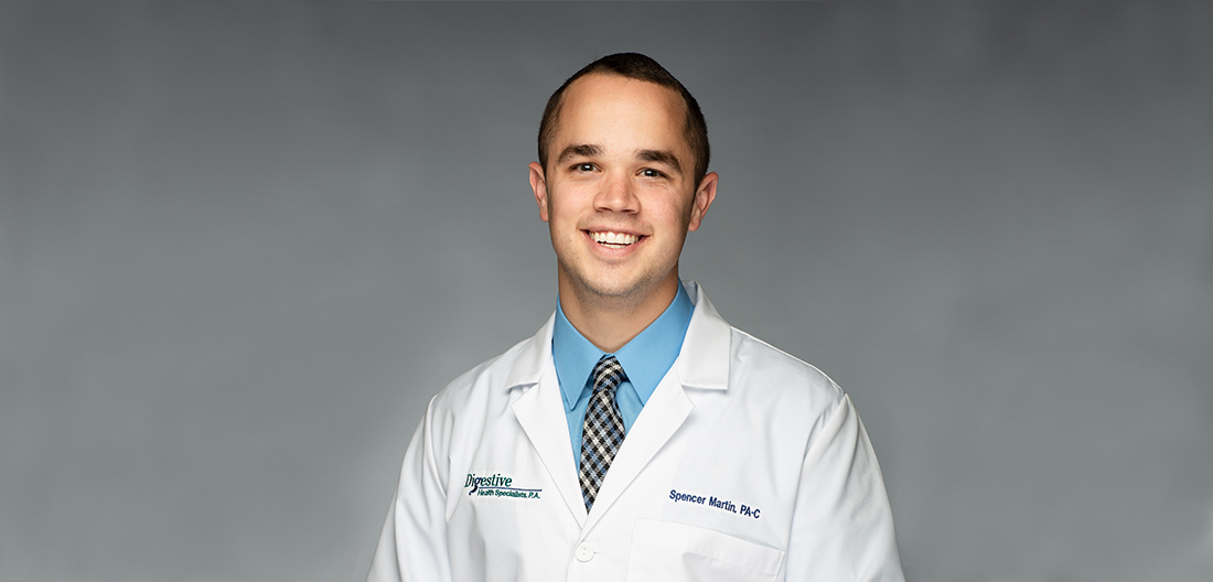 Spencer Martin, PA-C at Digestive Health Specialists.