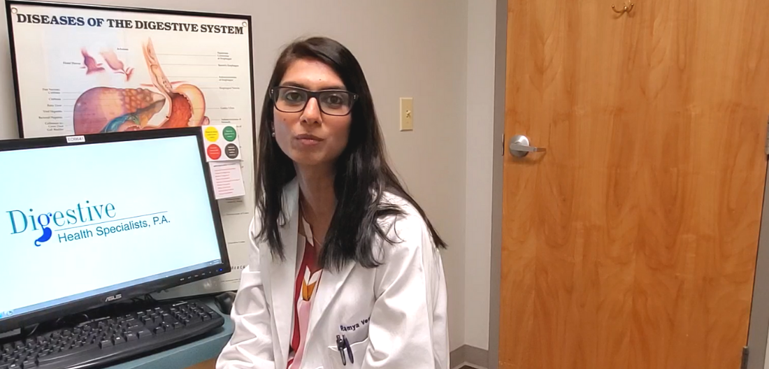 Dr. Vestal, gastroenterologist at Digestive Health Specialists